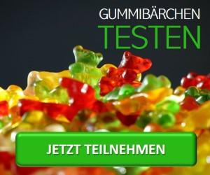 Gummibären testen
